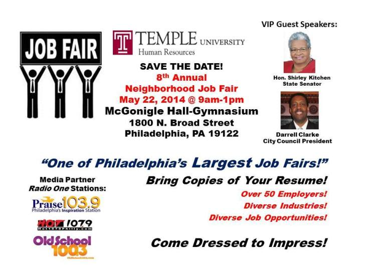Job fair in may